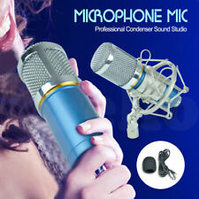Pro Blue Condenser Dynamic Microphone Mic Sound Studio Recording Shock Mount New