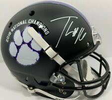 TREVOR LAWRENCE SIGNED CLEMSON TIGERS FULL SIZE FOOTBALL HELMET AUTO PSA/DNA
