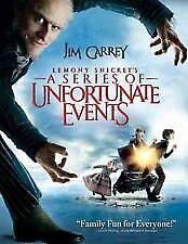 Lemony Snickets DVD Jim Carrey Movie - REGION 4 AUSTRALIA