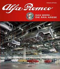 Alfa Romeo - Werk Arese (Giulia GT Bertone Giulietta Alfetta 75) Buch book