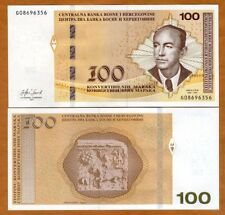 Bosnia-Herzegovina, 100 Marka, 2017 P-New, UNC > Sop