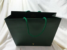 Authentic Rolex Watch Co Large Paper Shopping Gift Bag 12 X 11 X 4 inch