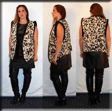 New Spotted Fox Fur Vest Size Medium 6 8 M Efurs4less