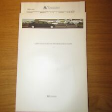 MERCEDES-BENZ E-CLASS W210 MJ Limousine E240 E280 E320 E250 E300 Brochure c.1997