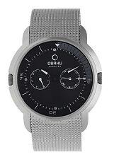 Obaku Harmony Men's Quartz Watch V141gcbmc With Metal Strap