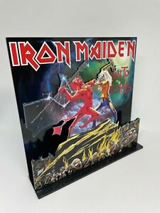 "Iron Maiden Run To The Hills album 3D display 8"" standee vinyl holder (figure)"