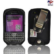 Blackberry Q10 Turtleback Black Nylon HD Case