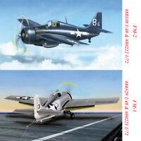 HobbyBoss 80329 80330 80221 80222 1/48 1/72 FM-1/FM-2 Wildcat Fighter Model Kits