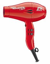 Parlux Advance Light Red Dryer Hair Ionic Professional 2200W 3 M. Cable