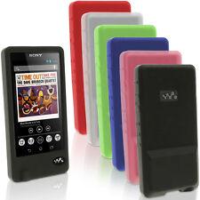 Silicone Etui Housse Gel Coque pour Sony Walkman NWZ-ZX1 Case Cover Prot d'écran