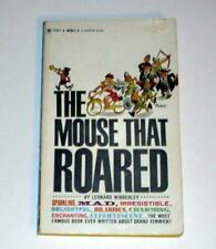 The Mouse That Roared by Leonard Wibberly (1962, Paperback) VINTAGE!