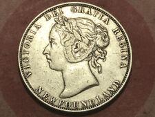 1899 Newfoundland 50 cents  narrow 9's