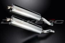 """Delkevic 18"""" Stainless Mufflers - Kawasaki Ninja 500 EX500 1987-2009 Exhaust"""