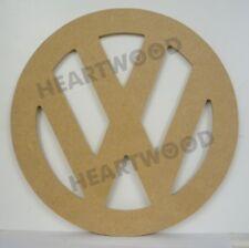VW sign in MDF 150mm x 6mm/Volkswagon/Camper interior sign/Badge