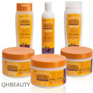 Cantu Grapeseed Strengthening with Shea Butter Hair Care Collection