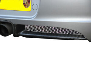 Porsche Cayman 987.1 - Rear Grill Set - Silver finish (2005 to 2009)