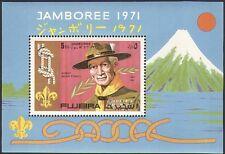 Fujeira 1971 Scouts/Scouting // Baden Powell/Jamboree/Mt Fuji 1 V M/S (b2799)