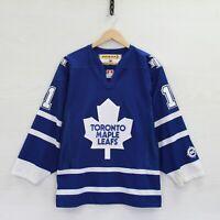 Vintage Owen Nolan #11 Toronto Maple Leafs CCM Jersey Size Small NHL Hockey