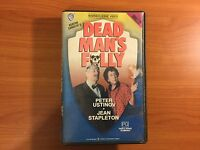 Agatha Christie's Dead Man's Folly VHS Video with Peter Ustinov
