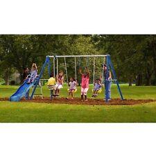 Flexible Flyer Swing Free Metal Swing Set