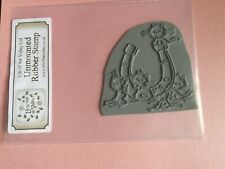 Lili Of The Valley Wedding Horsehoe & Lucky Cats Rubber Stamp