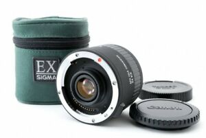 SIGMA APO TELE CONVERTER 2X EX Lens w/Case For Canon [Near Mint] From Japan #851