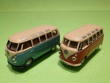 VOLKSWAGEN BUS - SCHUCO + HONGWELL  - RARE SELTEN - GOOD CONDITION