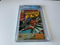HUMAN FLY 3 CGC 9.8 WHITE PAGES FORTRESS OF FEAR MARVEL COMICS 1977
