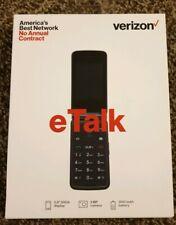 New Verizon Prepaid Wireless Takumi eTalk with 4Gb Memory