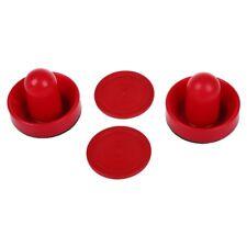 1X( 2 Air Hockey Pushers 2 table hockey pucks Handles L8D9)