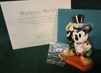 1997 WDCC Membership Magician Mickey On with the Show Disney COA NIB w PIN