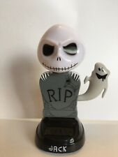 The Nightmare Before Christmas Jack Solar Dancing Bobble Head - New