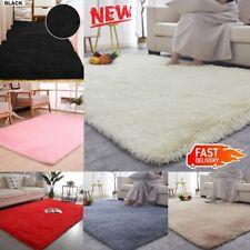 Large Fluffy Rugs Anti-Slip Shaggy Rug Soft Carpet Mat Living Room Floor Bedroom