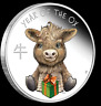 2021 YEAR OF THE OX BABY SILVER 1/2oz Proof Coin