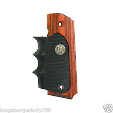 Pachmayr American legend WOOD Rubber Countoured grip grips Colt 1911 pistol USA