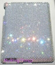 CLEAR CRYSTAL Diamond Bling Case for Apple iPad 2 made using Swarovski Elements