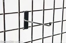 "10 x 12"" Single Prong Gridwall 305mm Long Mesh Display Panel Shopfitting Hook"
