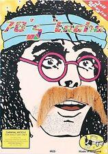 1970s 70s Blonde Pimp Hippie Keith Lemon Style Moustache Tash Fancy Dress