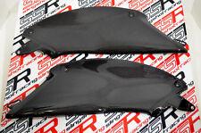 Ducati Diavel Under Tank Lower Side Fairing Panel Cover Set Carbon Fiber Fibre