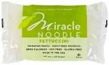 6 Packs Miracle Noodle Fettuccini Shirataki Pasta 4 Low Carb Diet & Weight Loss