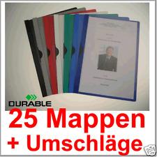 200 Bewerbungsmappen Cliphefter Klemmmappen FREI FARBEN Mappen für Bewerbung
