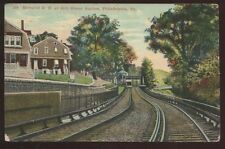 Postcard PHILADELPHIA Pennsylvania/PA  66th St  Elevated Railroad Station 1907