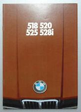 V24365 BMW SERIE 5 518 520 525 528i - CATALOGUE - 02/77 - A4 - NL