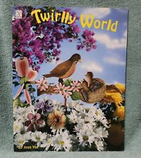 Twirlly World decorative painting book wood tole Joan Yax