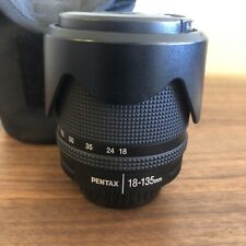 Pentax SMC DA 18-135mm f3.5-5.6 ED AL IF DC WR Lens excellent condition