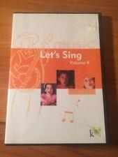 Let's Sing Volume K (DVD) K12...45 songs...204