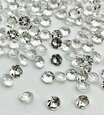 4.5mm/6mm/10mm 2500 WEDDING PARTY TABLE DECORATION DIAMOND CONFETTI DIAMANTE