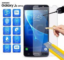 2 X protector de pantalla de vidrio templado genuino para Samsung Galaxy J5 versión 2016
