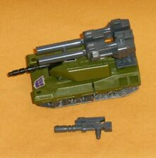 original G1 Transformers combaticon BRAWL (metal treads) 100% COMPLETE Bruticus