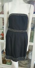 French Connection cocktail dress.Sz10.Beaded and boned.Fully lined.As new.